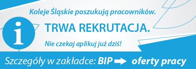 Rekrutacja w Kolejach Śląskich