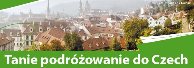 Baner Tanie podróżowanie do Czech