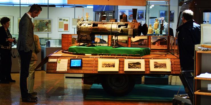 Koleje Śląskie wsparły wystawę kolejnictwa, organizowaną przez Muzeum Ziemi Górnośląskiej.