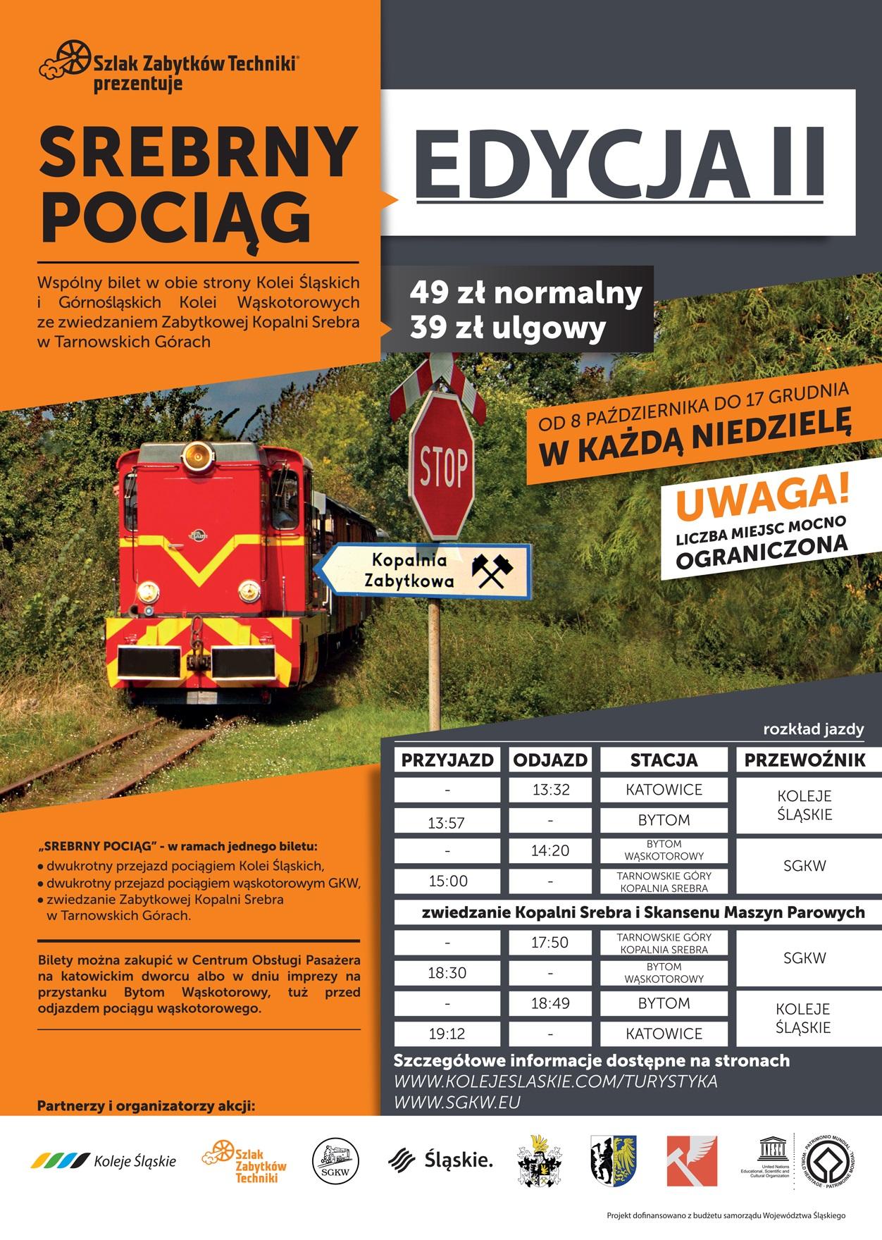 Srebrny Pociąg Wraca Na Tory Koleje śląskie Regionalny
