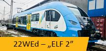 Elektryczny Zespół Trakcyjny 22WEd ELF 2