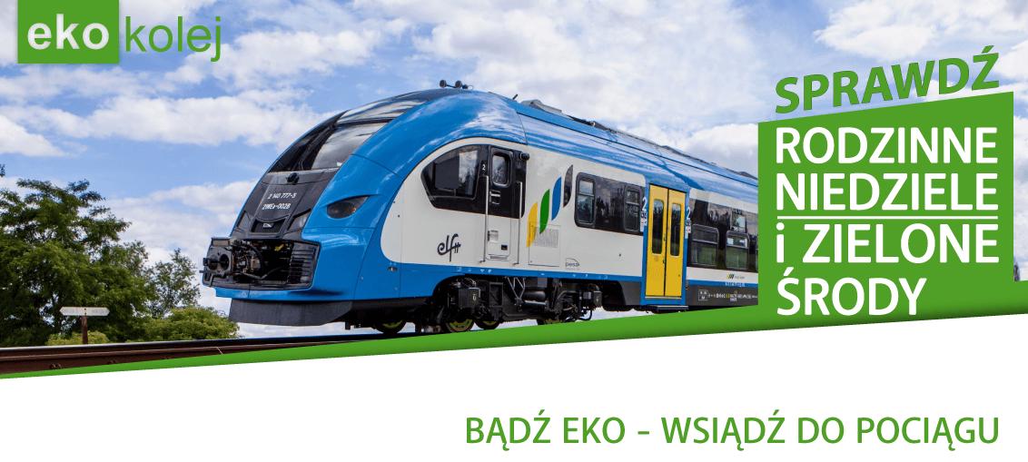 Bądź eko - wsiądź do pociągu